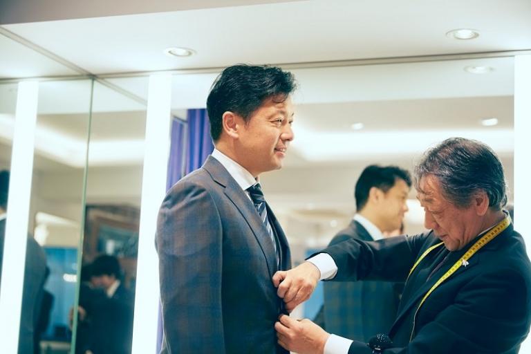 岡田光信氏フィッティング