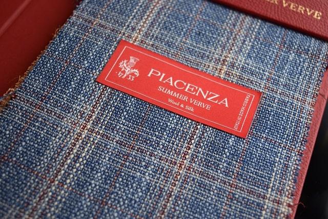 PIACENZAのジャケット生地